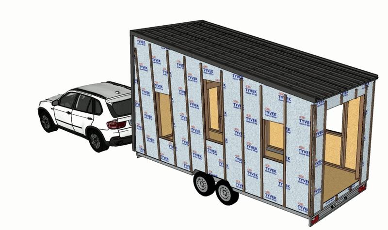 photo tiny house Tempo Rock Des matériaux durables et de qualité