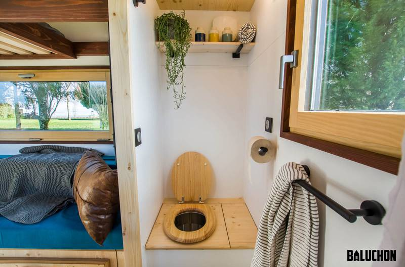 photo tiny house Nano Toilettes sèches écologiques
