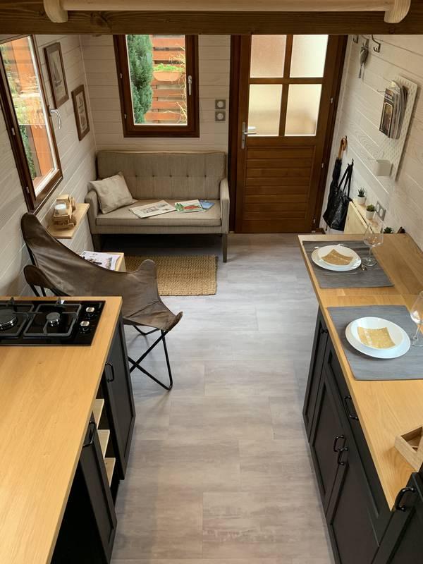 photo tiny house Tiny M'House Une agréable pièce à vivre