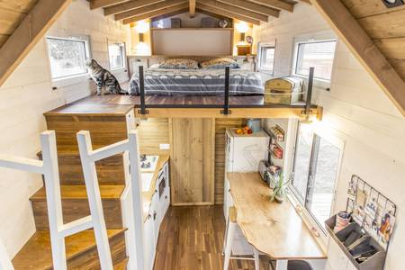 photo tiny house Petit Colibri