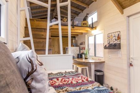 photo tiny house Petit Colibri