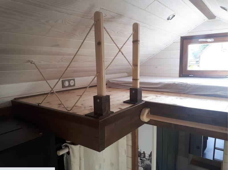 photo tiny house Tiny M'House Petite mezzanine
