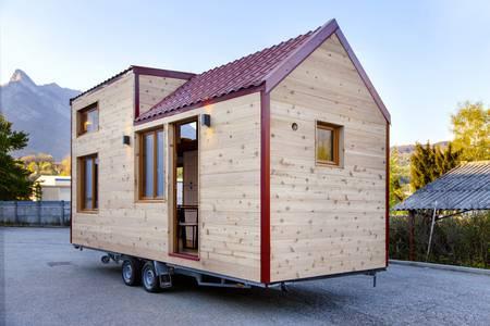 photo tiny house Nanaïmo