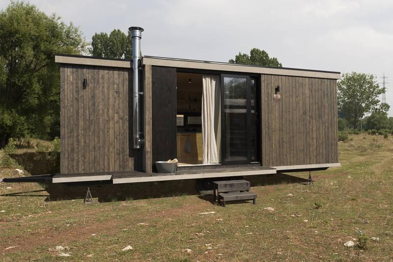 photo tiny house Joy Une Tiny House au design moderne