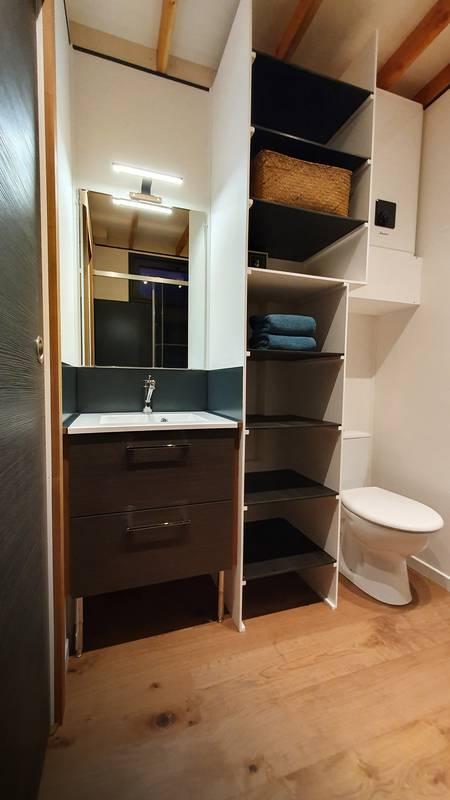 photo tiny house Tiny House N°1 Une véritable salle de bain
