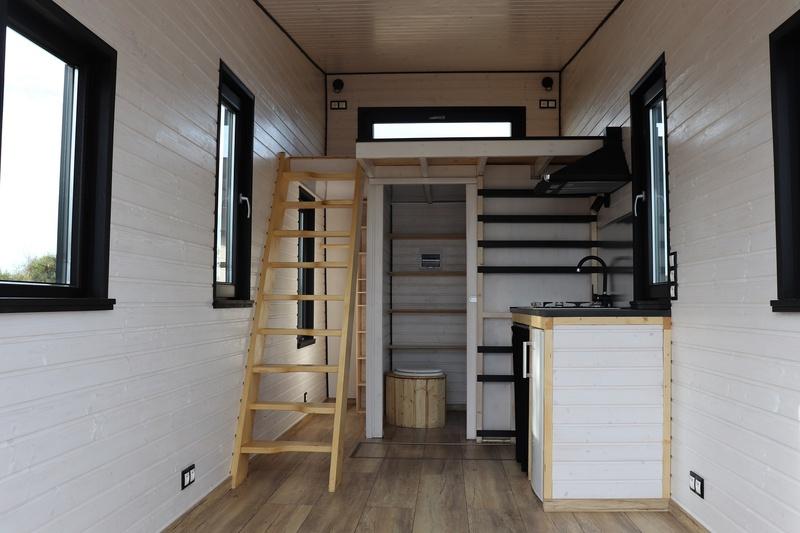 photo tiny house Tempo Rock Aménageable selon vos besoins
