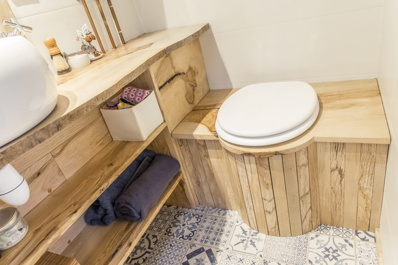 photo tiny house Petit Colibri Des toilettes sèches écologiques