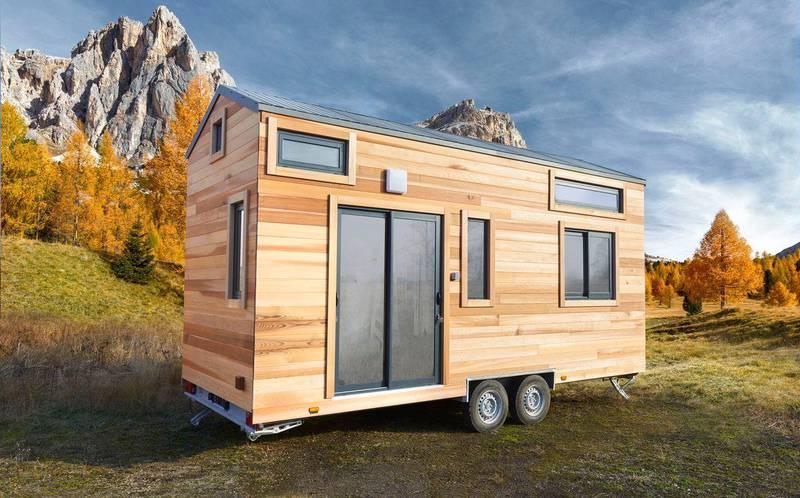 photo tiny house Origin Un design élégant et des matériaux de qualité