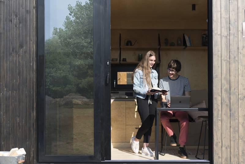 photo tiny house Joy Idéale pour un couple
