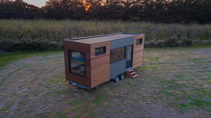 photo tiny house Tiny House N°1 Récupération des eaux de pluie