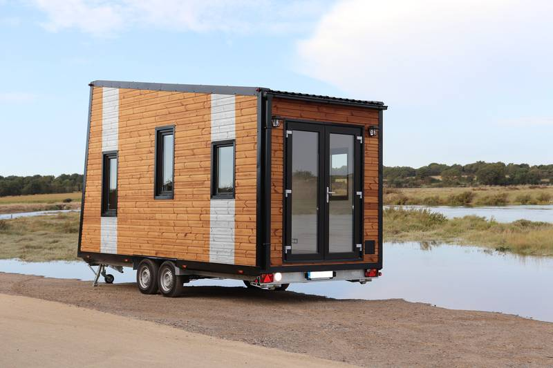 photo tiny house Tempo Rock Design moderne et soigné