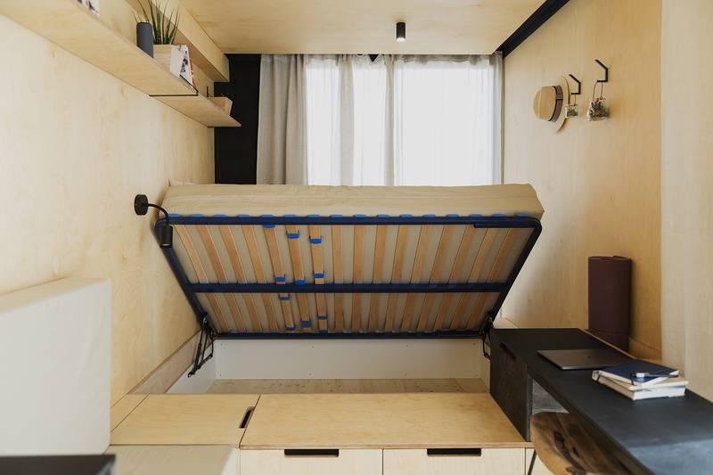 photo tiny house Joy Adieu le désordre, place au minimalisme !