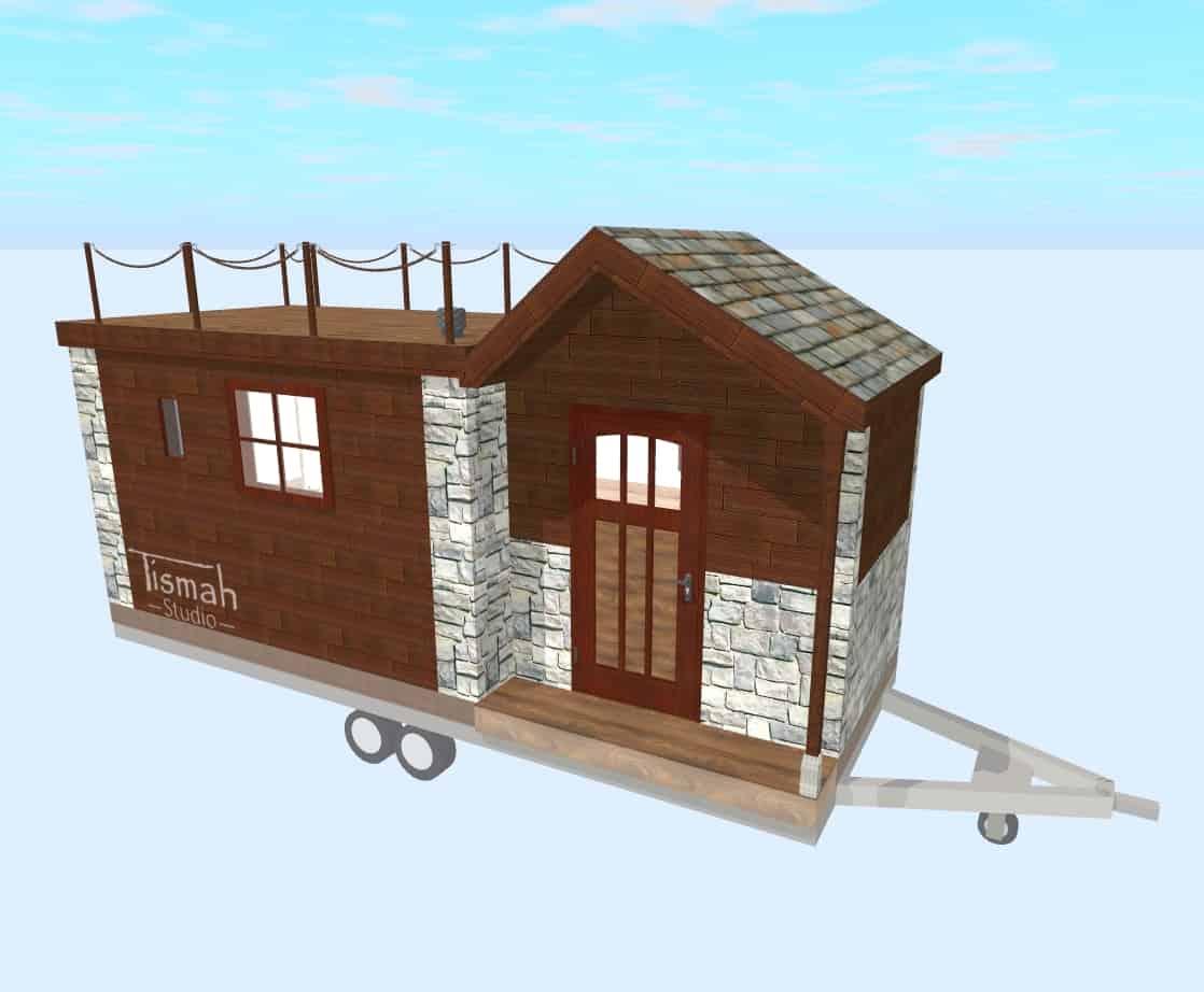 tiny house design Lodge
