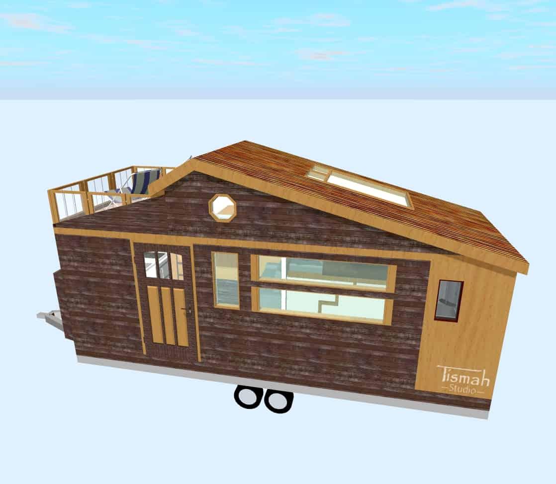 tiny house design Skywatcher Rooftop