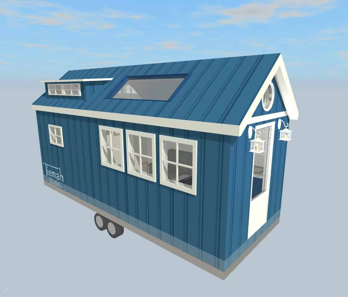 tiny house design Scandi