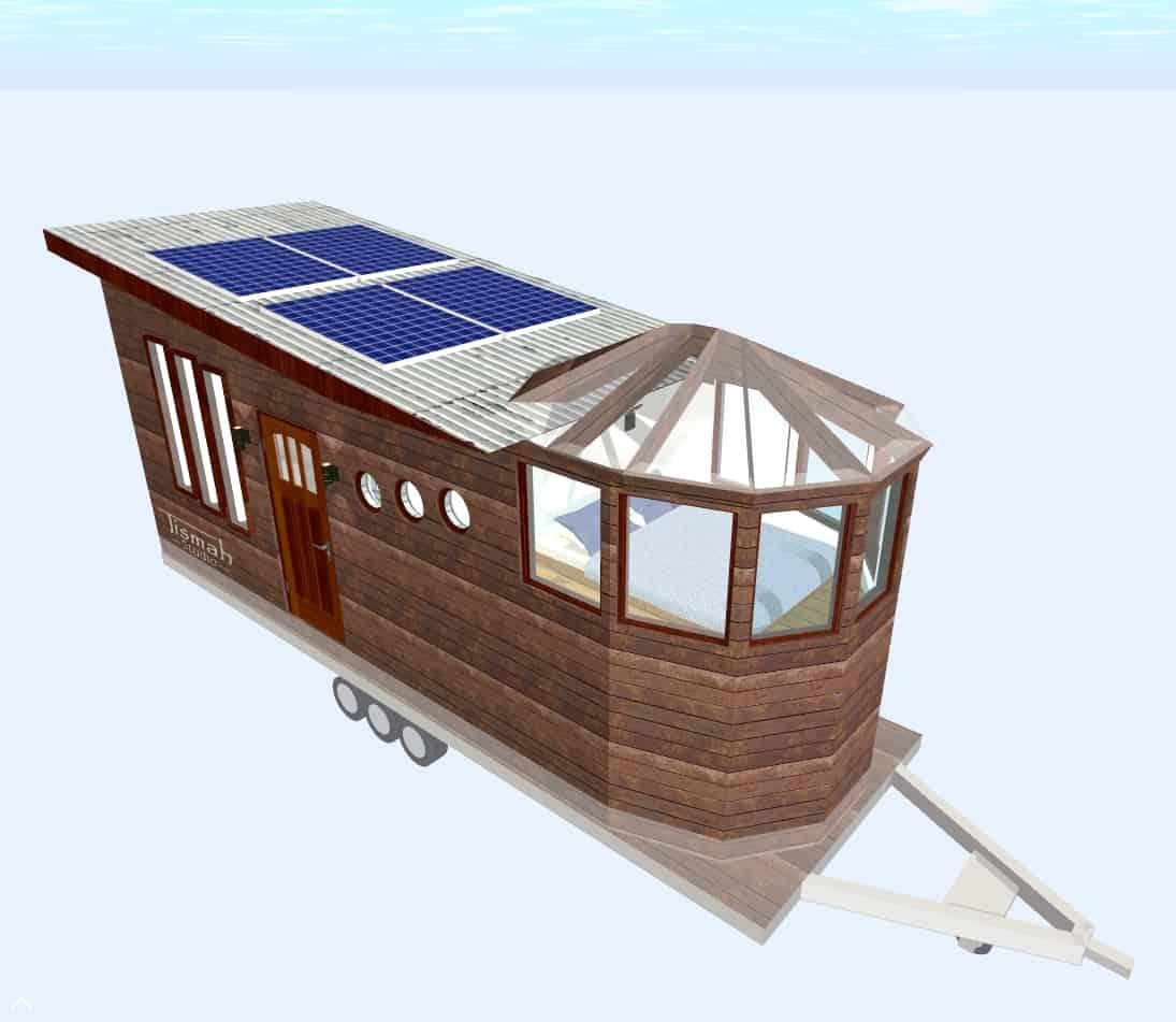 tiny house design Skywatcher Igloo