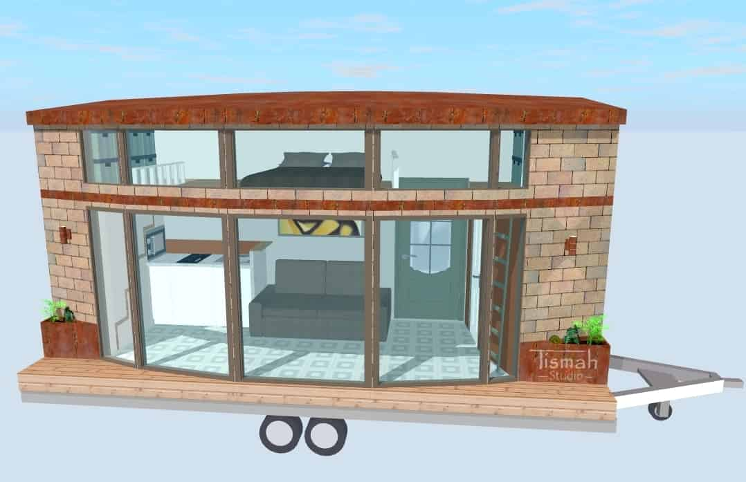 tiny house design The 110